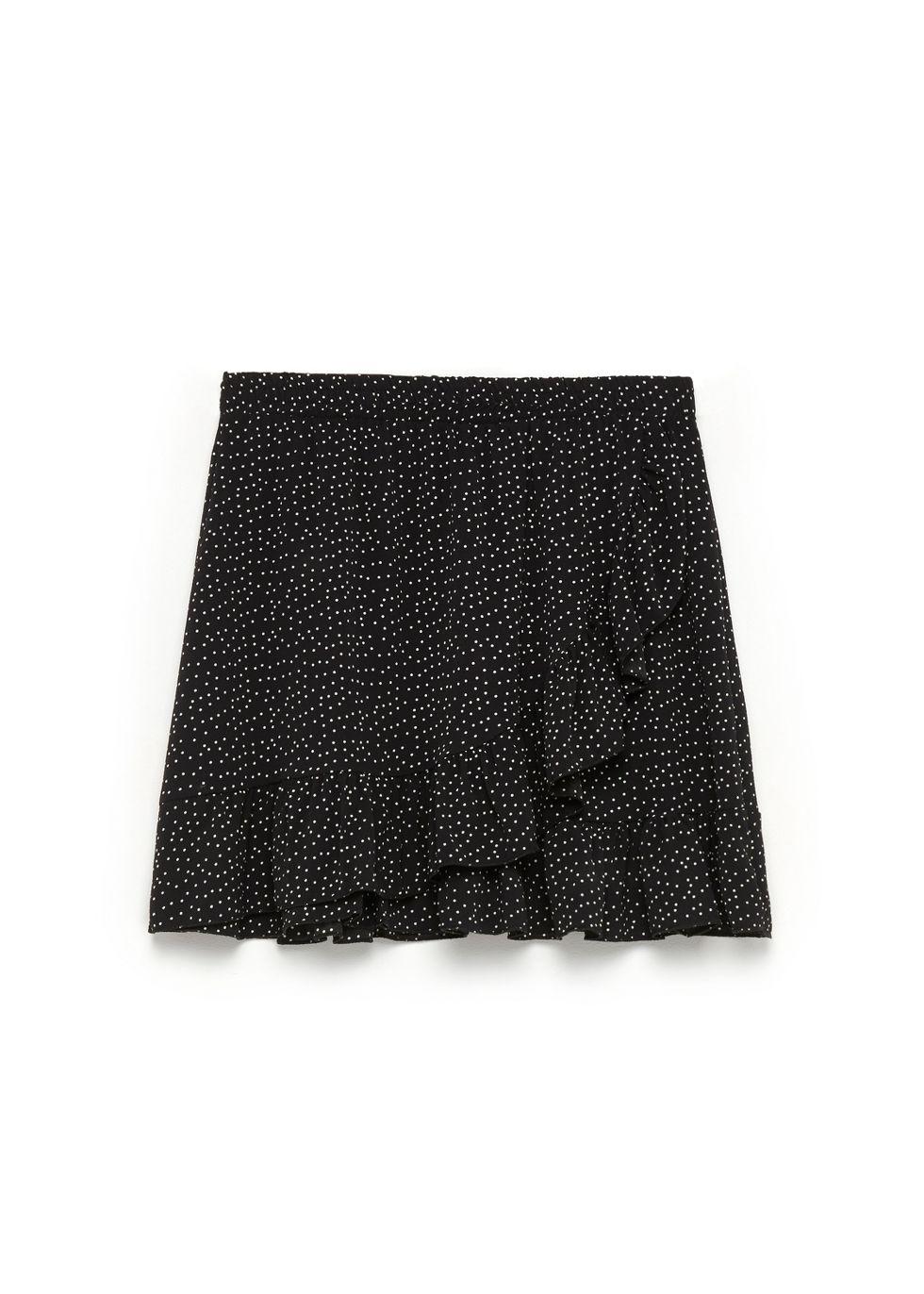 lage prijs stopcontact online mode Dot Ruffle Skirt   Costes Fashion