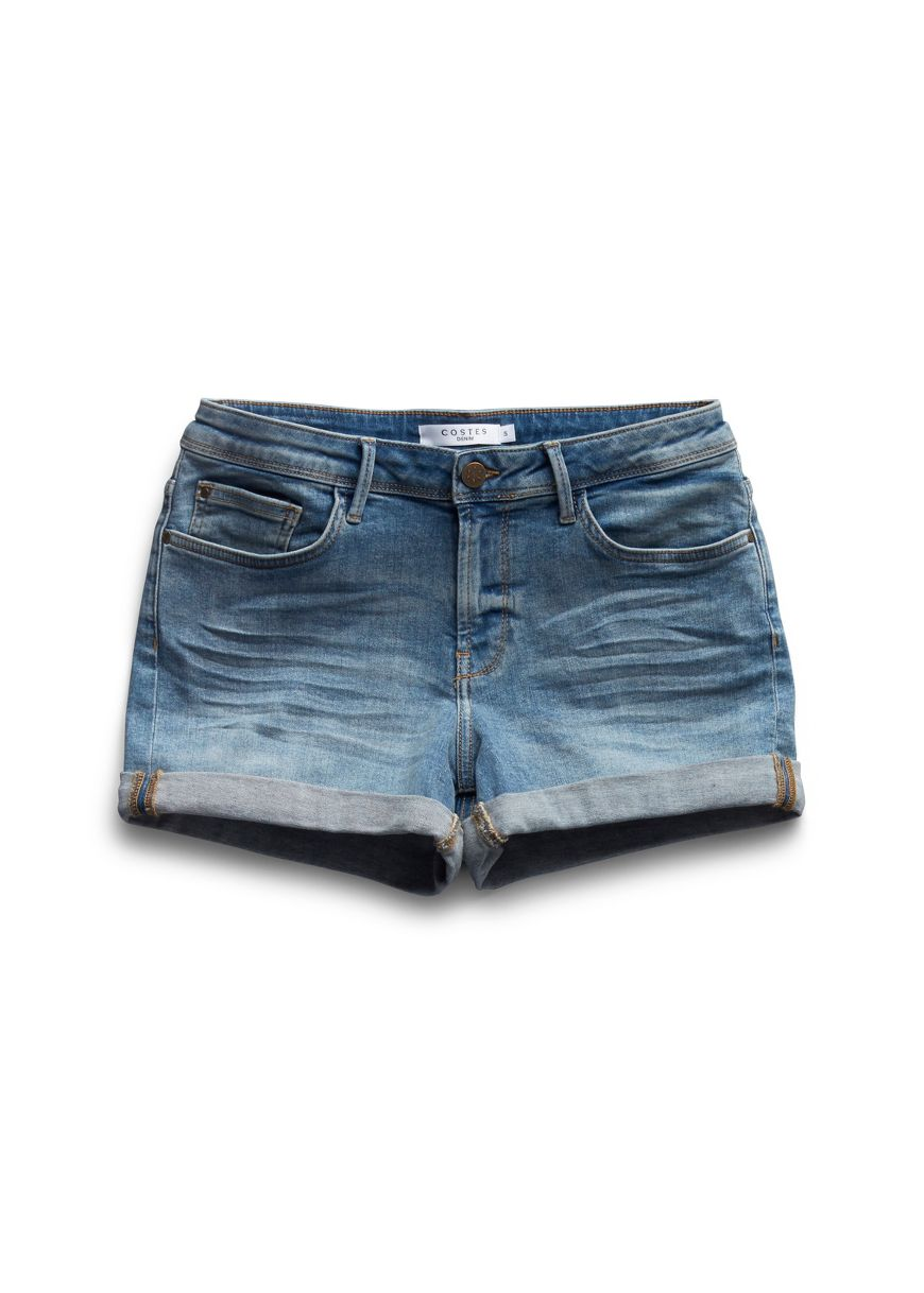 Korte Broek Spijker Dames.Shorts Voor Dames Costes Fashion