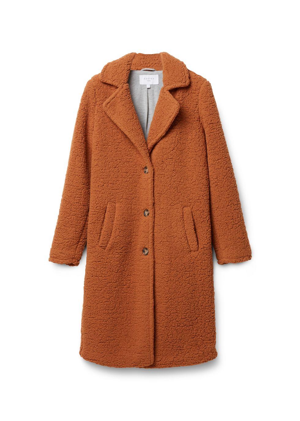 Dames lange teddy jas   95442365_0670 WE Fashion