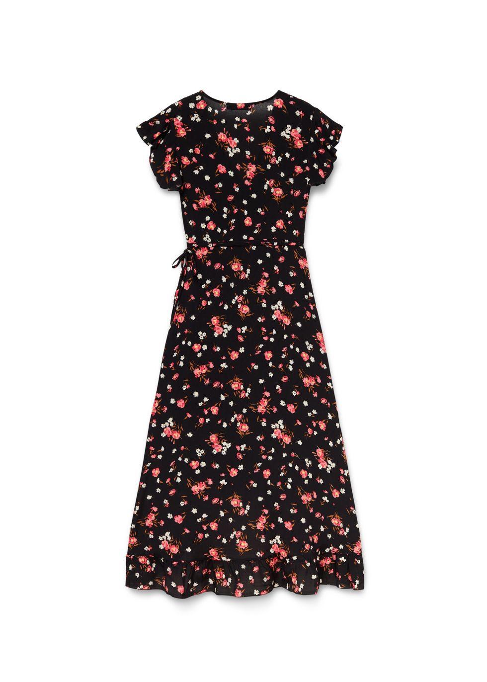 Maxi Ruffle Dress | Costes Fashion