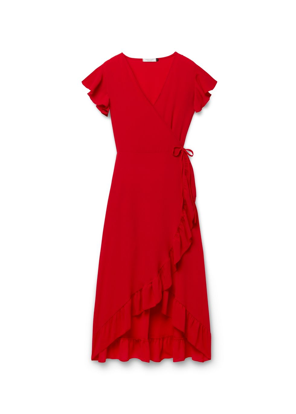 Maxi Ruffle Dress   Costes Fashion