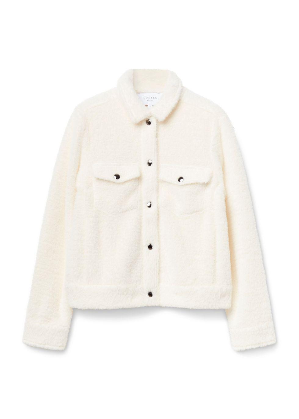 Fuzzy Jacket offwhitewit