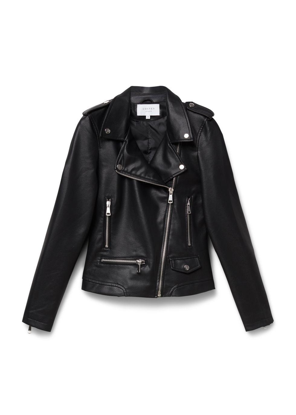 Biker Jacket zwart