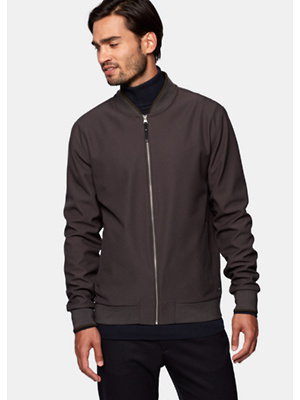 Bomber Zip Sweat