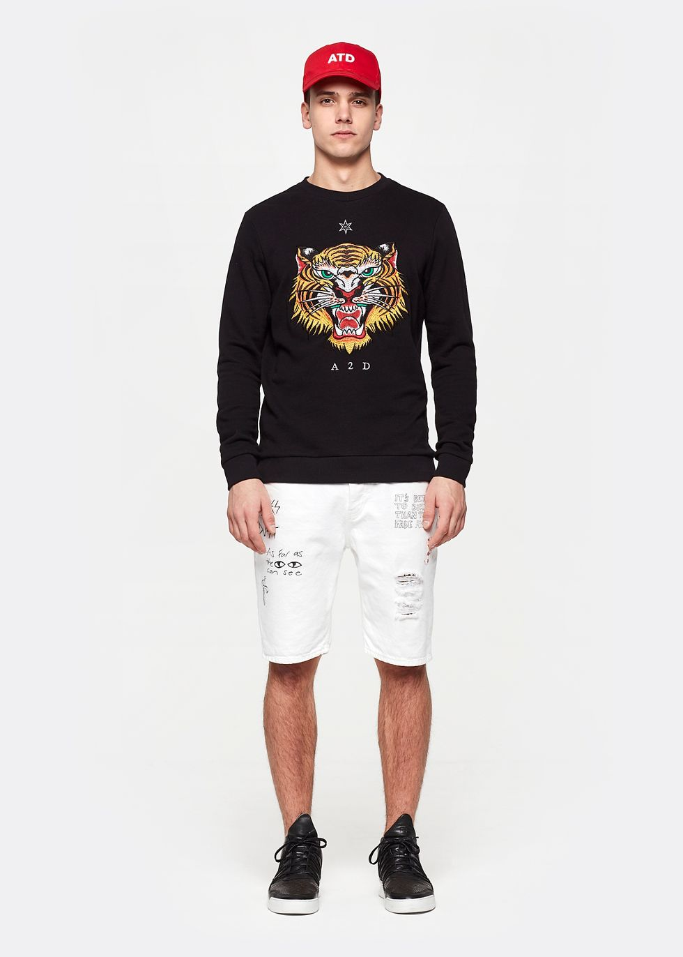 Tiger sweater   The Sting