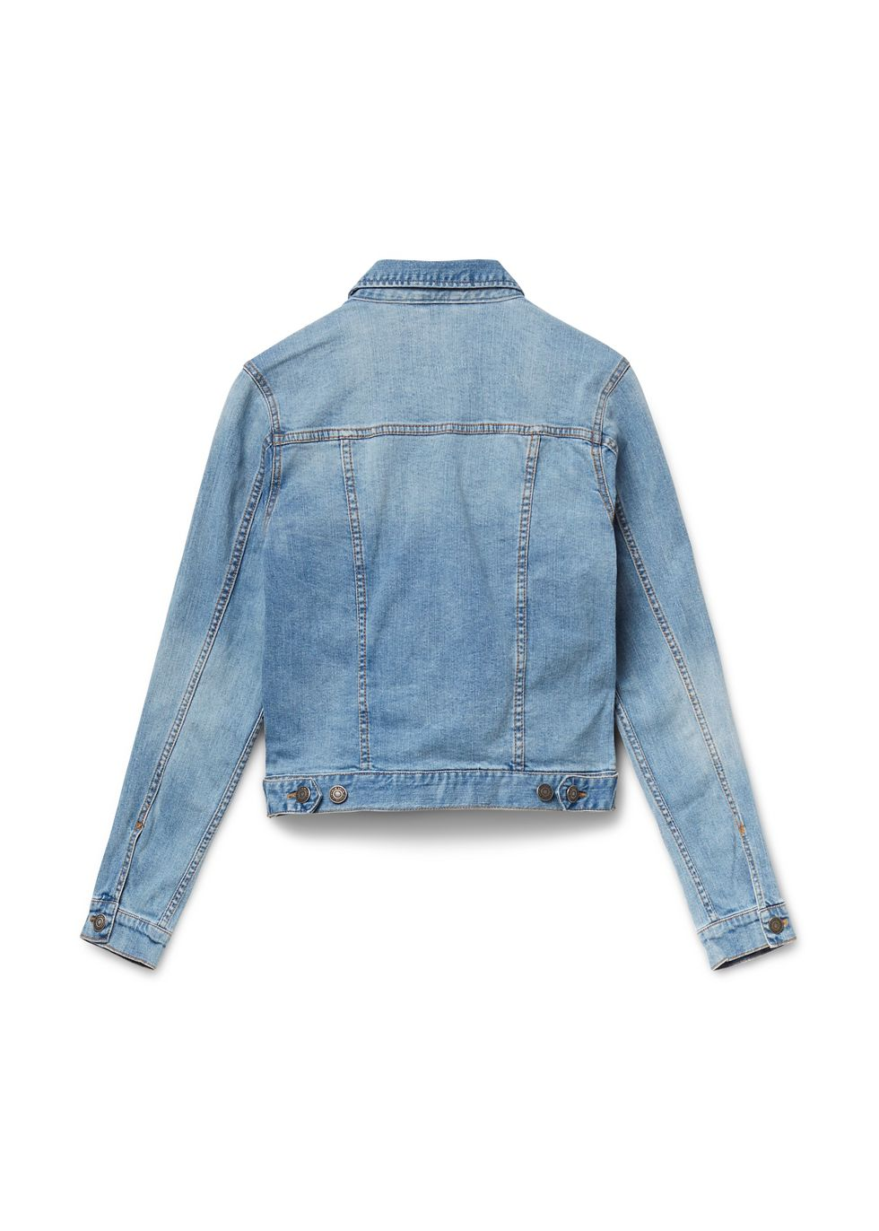 Basic Denim Jacket blauwusedmiddle