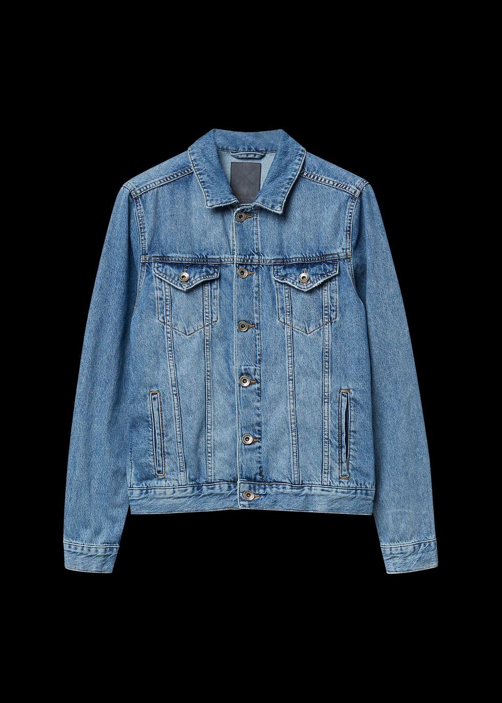 Denim Jacket blauwusedmiddle
