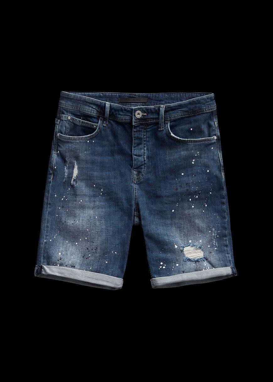 Korte Broek Legerprint Heren.Shorts Voor Heren The Sting