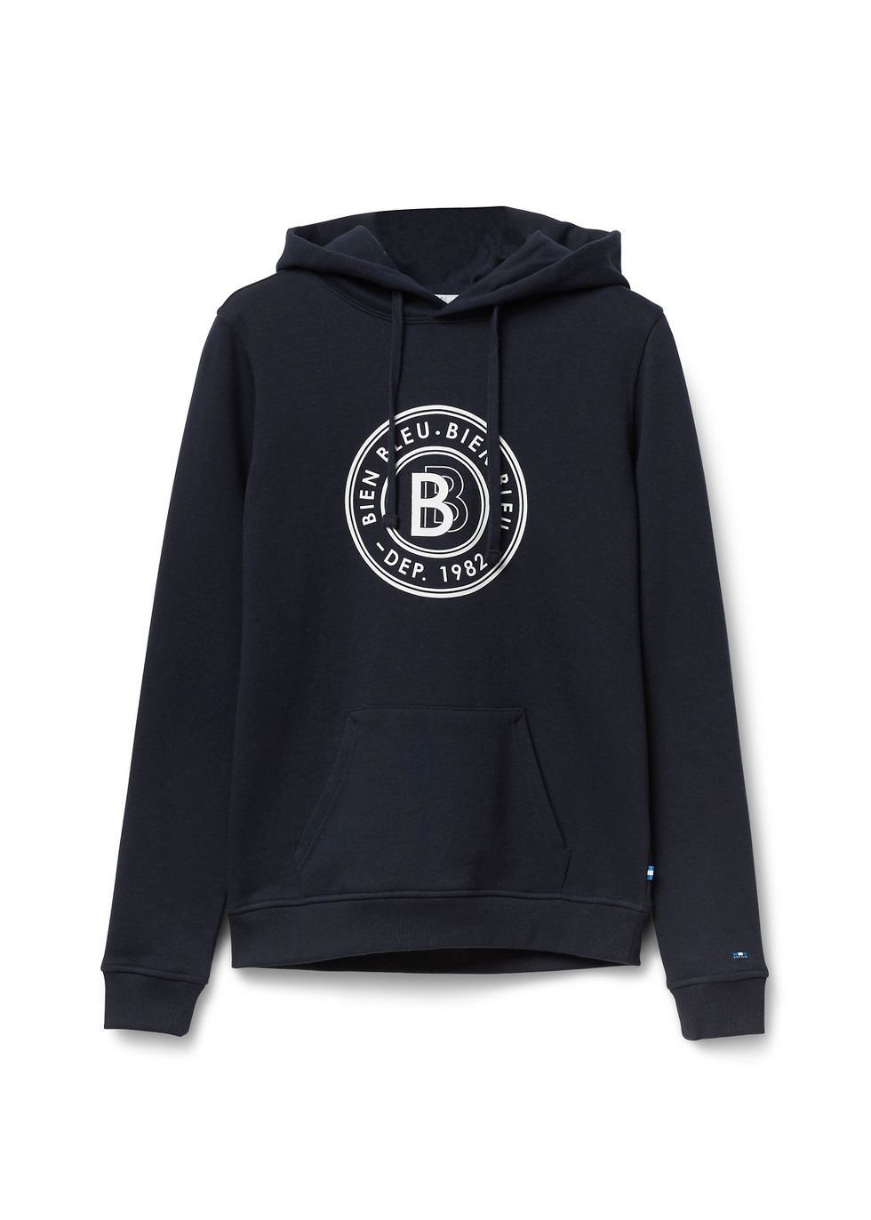 Hooded Sweater donkerblauw