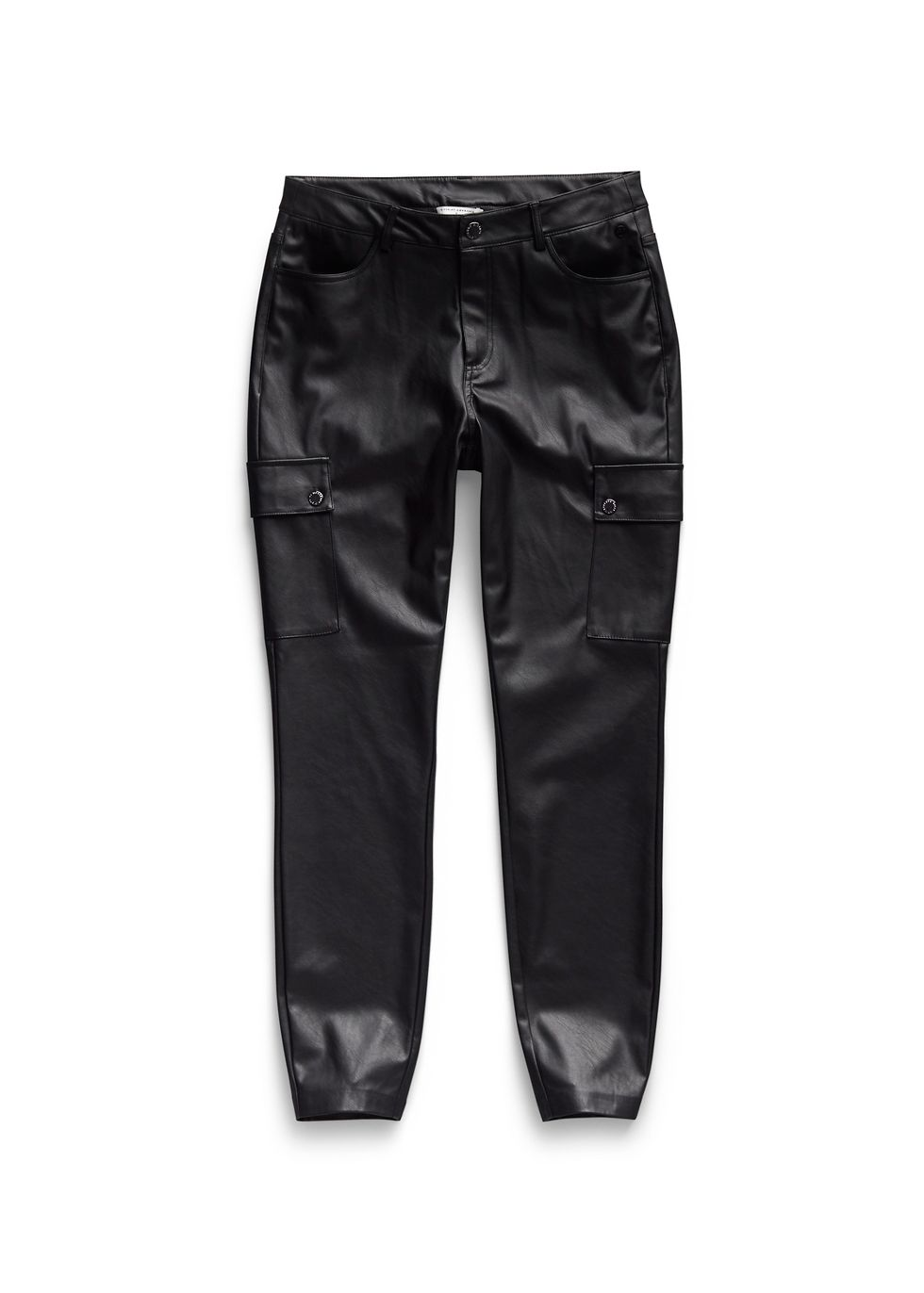 Leather Look Cargo Pants | The Sting