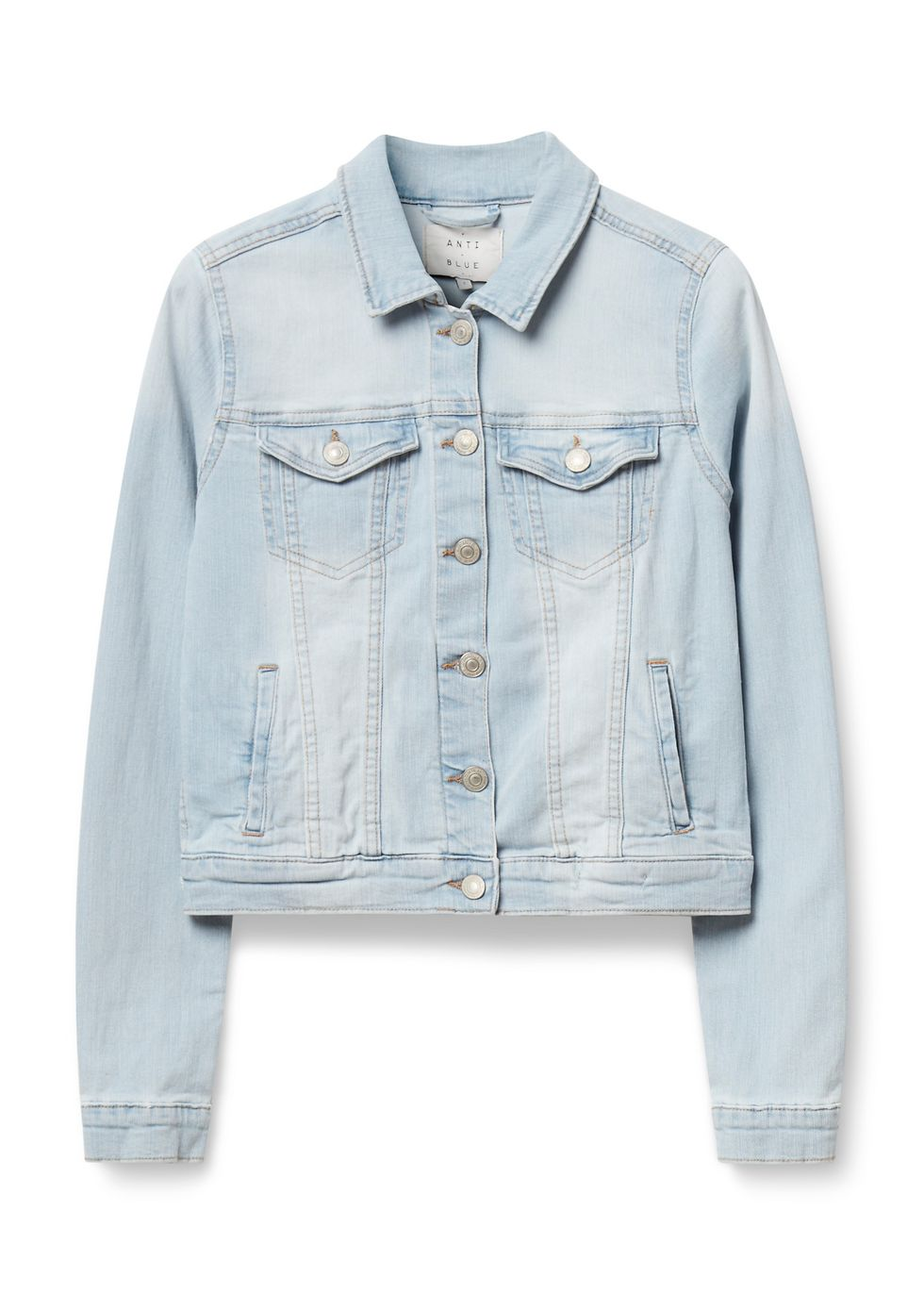 Stretch Denim Jacket blauwbleached