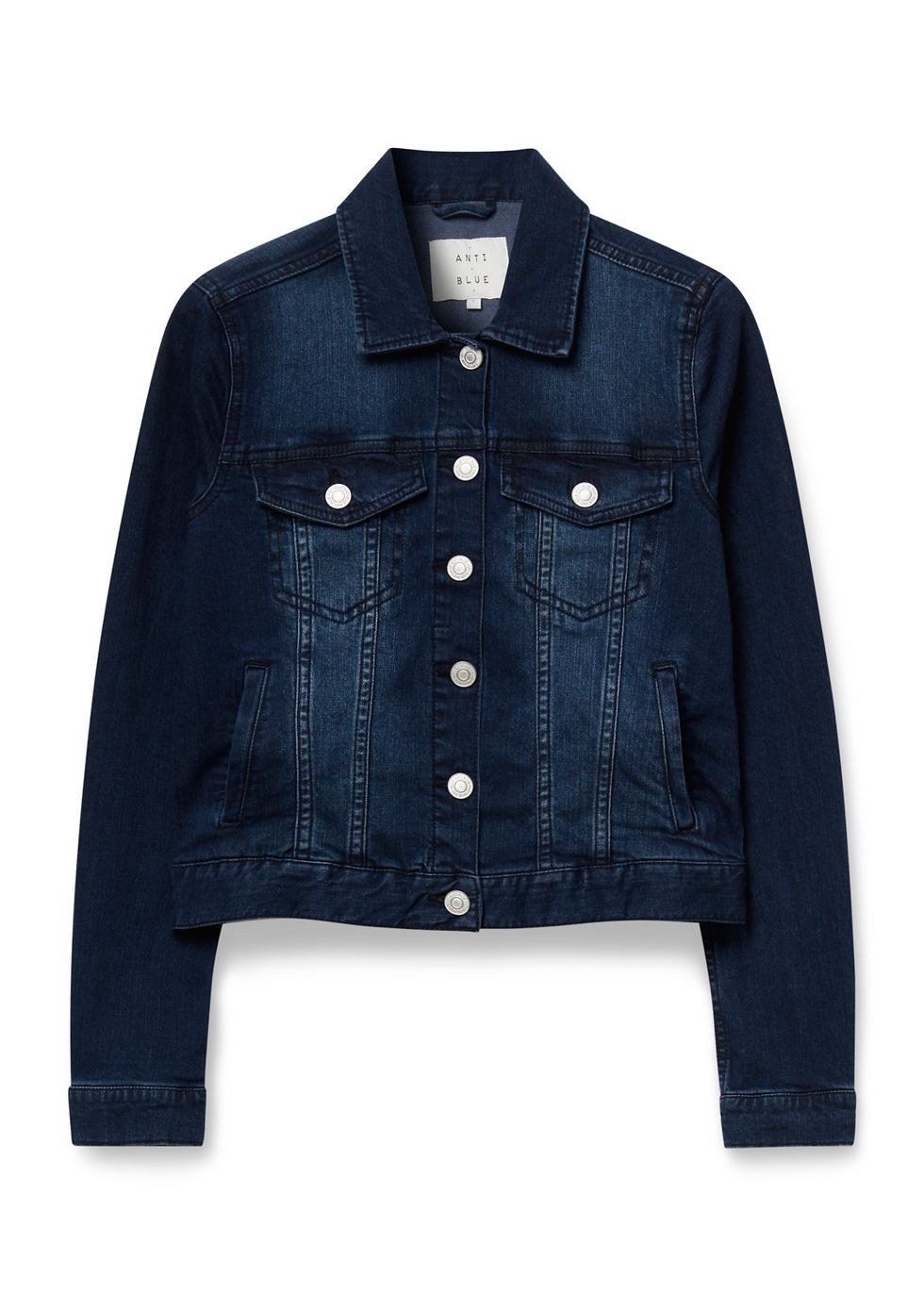Stretch Denim Jacket blauwusedmiddle