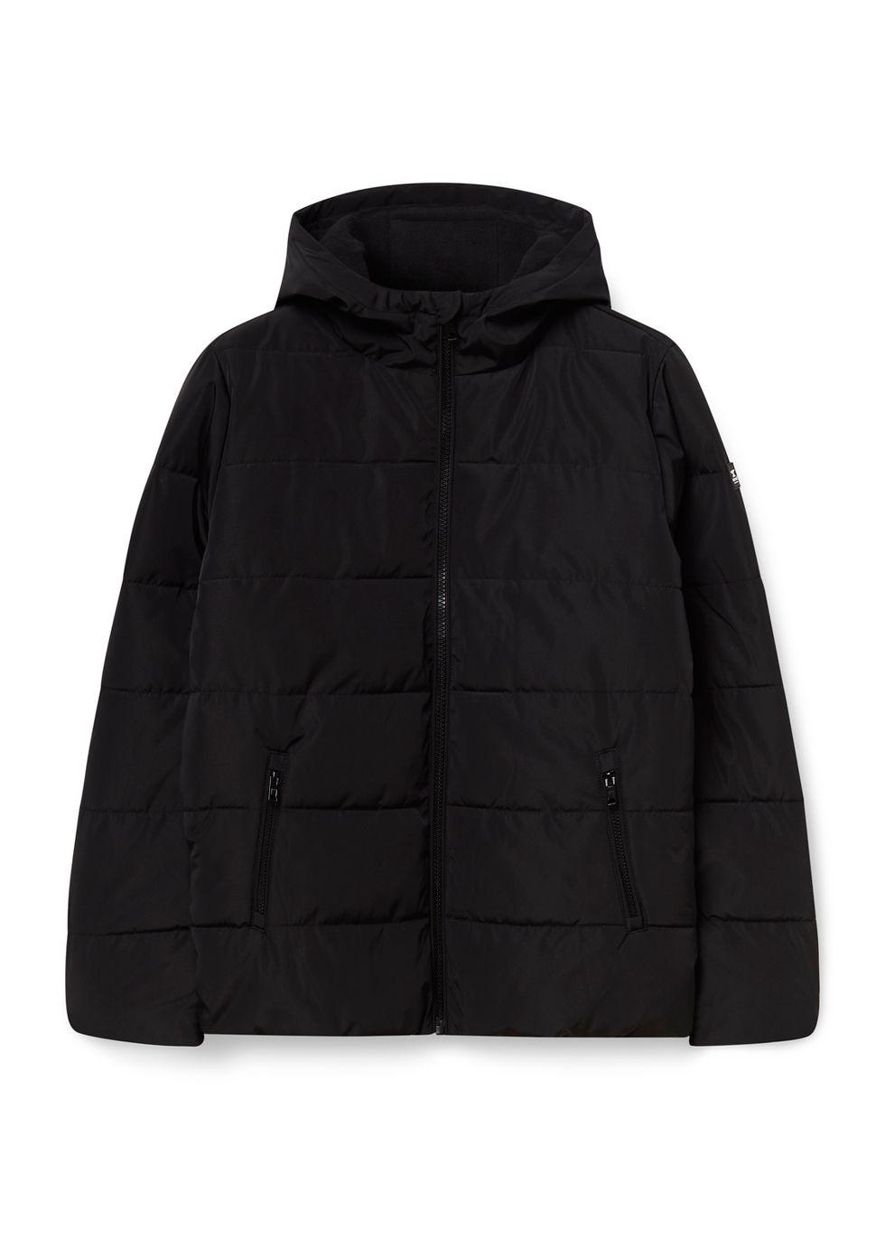 Puffer Jacket zwart